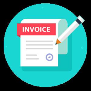 彈性處理貴公司要求的發票invoice2