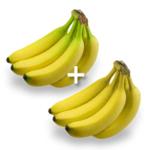 一半較生、一半較熟香蕉